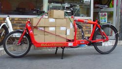 Vélo cargo urban cycle