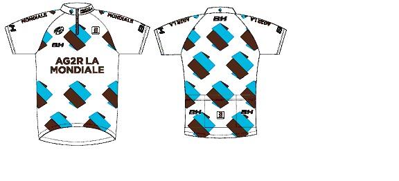 Nouveau maillot AG2R