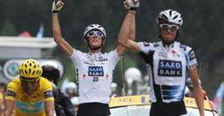 Freres Schleck-Contador