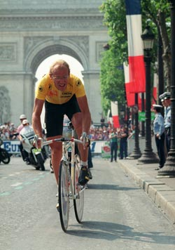 Laurent Fignon - LeMond - duel