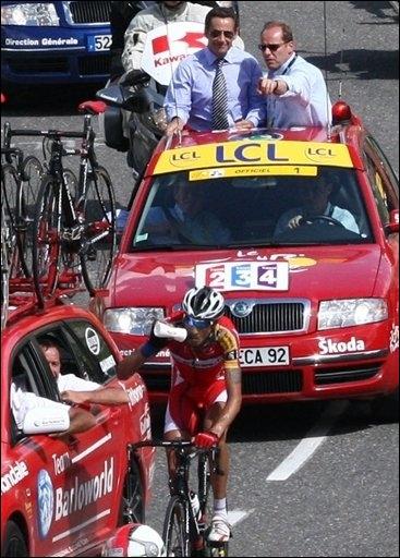 Sarkozy Tour de France