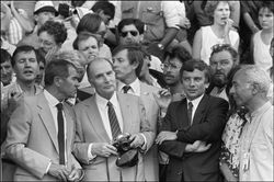 Mitterrand Tour de France