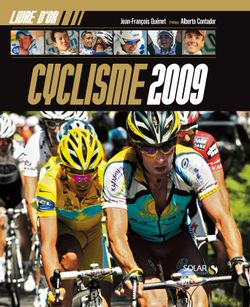 Couv HD LO Cyclisme 2009