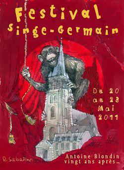 L''affiche Singe GermainV2.0